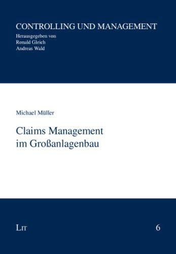 9783825817718: Claims Management im Gro�anlagenbau