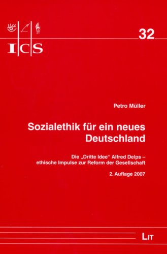 9783825823221: Sozialethik für ein neues Deutschland: Die