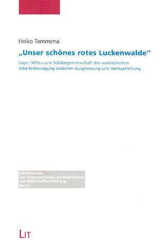 9783825845995: Unser schönes rotes Luckenwalde