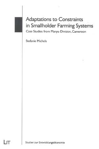 Adaptations to Constraints in Smallholder Farming Systems: Michels, Stefanie