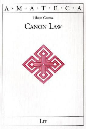 9783825848576: Canon Law (AMATECA)