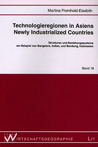 9783825853556: Technologieregionen in Asiens Newly Industrialized Countries