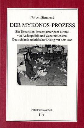 9783825861353: Der Mykonos-Prozeá