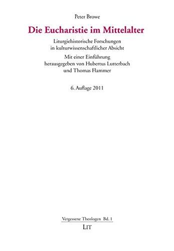 9783825862336: Die Eucharistie im Mittelalter