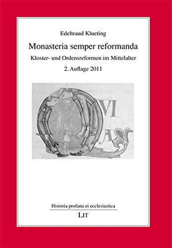 9783825874155: Monasteria semper reformanda