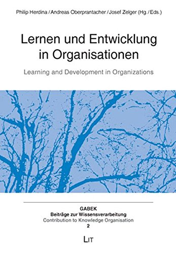 Lernen und Entwicklung in Organisationen / Learning and Development in Organizations (Gabek. ...
