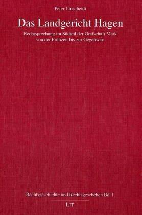 9783825883140: Das Landgericht Hagen