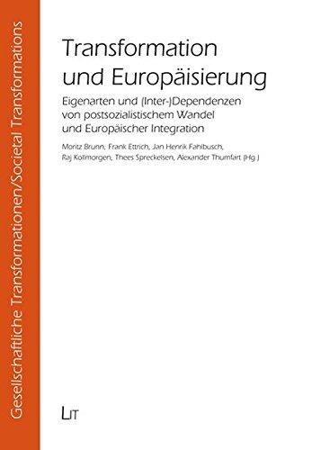 9783825883546: Transformation und Europäisierung
