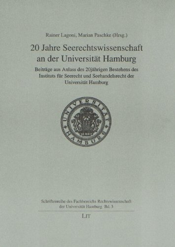 9783825888503: 20 Jahre Seerechtswissenschaft an der Universit+��t Hamburg