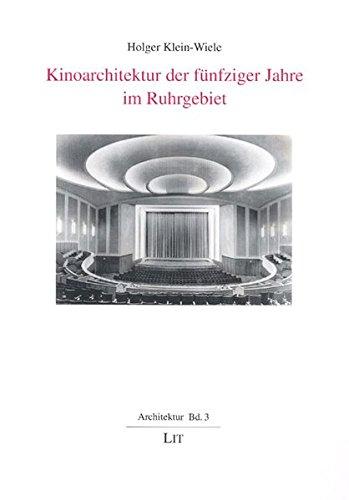9783825895136: Kinoarchitektur der fünfziger Jahre im Ruhrgebiet