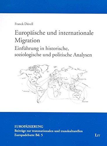 9783825895419: Europ�ische und internationale Migration: Einf�hrung in historische, soziologische und politische Analysen