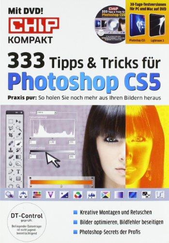 9783825924492: CHIP Spezial: 333 Tipps & Tricks für Photoshop CS5, m. DVD-ROM