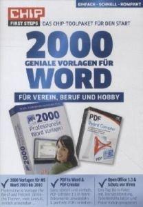 CHIP 2000 geniale Vorlagen für WORD [import allemand]