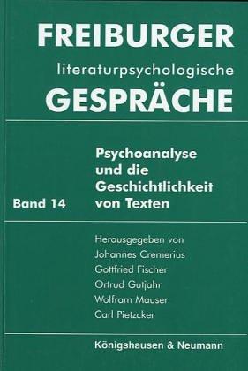 Gottfried Fischer johannes cremerius gottfried fischer und ortrud gutjahr abebooks