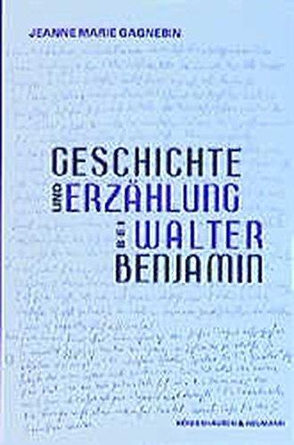 9783826020872: Geschichte und Erzählung bei Walter Benjamin