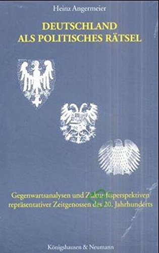 9783826021725: Deutschland als politisches Rätsel