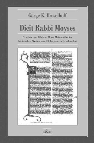 Dicit Rabbi Moyses: Görge K. Hasselhoff
