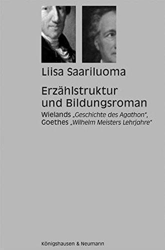 9783826027208: Erzählstruktur und Bildungsroman: Wielands