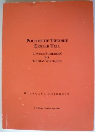 Politische Philosophie: Leidhold, Wolfgang