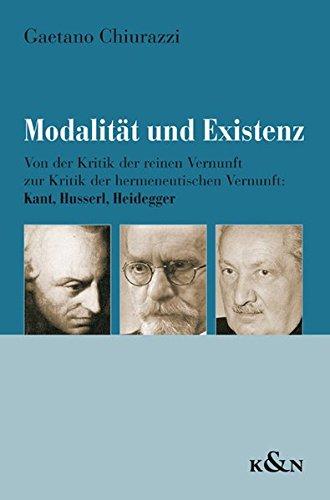 Modalität und Existenz: Gaetano Chiurazzi