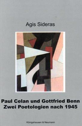 9783826030932: Paul Celan und Gottfried Benn