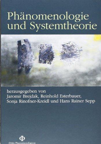 9783826031434: Phänomenologie und Systemtheorie