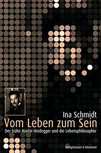 9783826031540: Vom Leben zum Sein: Der frühe Martin Heidegger und die Lebensphilosophie