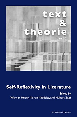 9783826032493: Self-Reflexivity in Literature