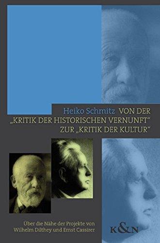 """Von der """"Kritik der historischen Vernunft"""" zur """"Kritik der Kultur"""": Heiko ..."""