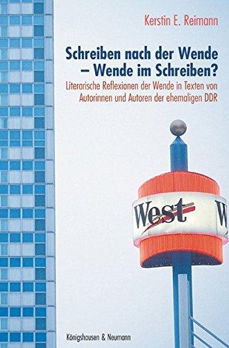 9783826033124: Schreiben nach der Wende - Wende im Schreiben?: Literarische Reflexionen nach 1989/1990