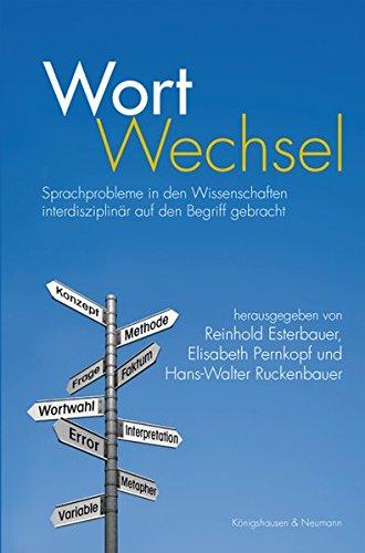 9783826034206: WortWechsel