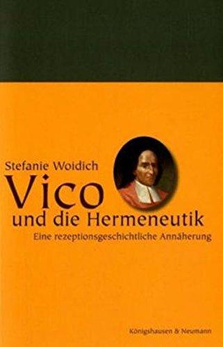 Vico und die Hermeneutik: Stefanie Woidich