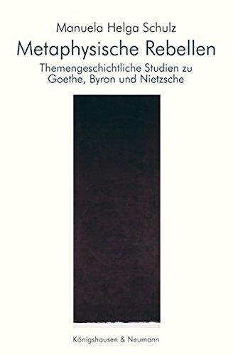 Metaphysische Rebellen: Manuela Helga Schulz