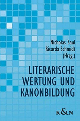 9783826035937: Literarische Wertung und Kanonbildung