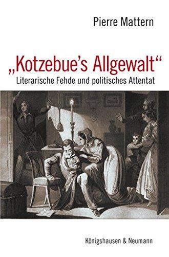 Kotzebue's Allgewalt: Pierre Mattern