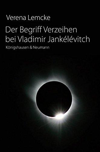 9783826038679: Der Begriff Verzeihen bei Vladimir Jankélévitch