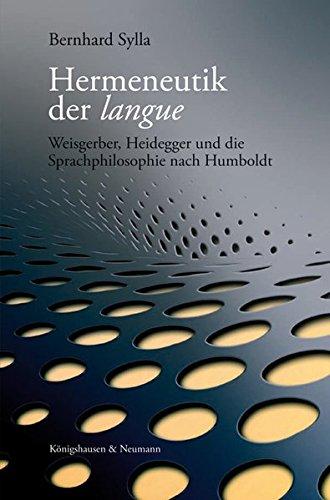 Hermeneutik der langue: Bernhard Sylla