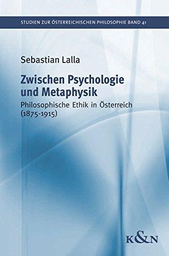 Zwischen Psychologie und Metaphysik: Sebastian Lalla