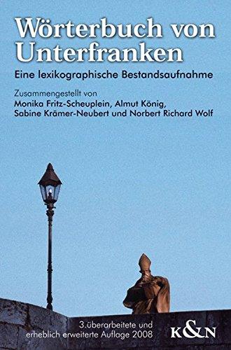 9783826040337: Wörterbuch von Unterfranken: Eine lexikographische Bestandsaufnahme
