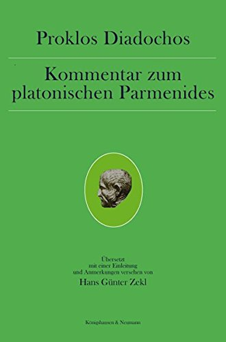 Kommentar zum platonischen Parmenides: Proklos Diadochos