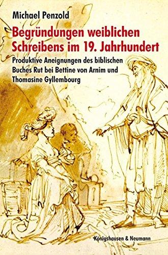 Begründungen weiblichen Schreibens im 19. Jahrhundert: Michael Penzold