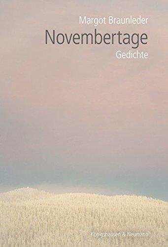 9783826046988: Novembertage