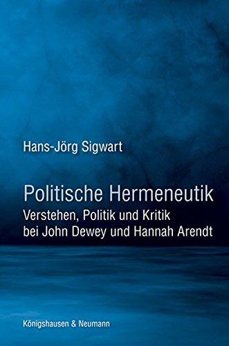 Politische Hermeneutik: Hans-J�rg Sigwart