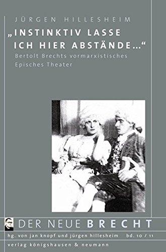 Instinktiv lasse ich hier Abstände.: Jürgen Hillesheim