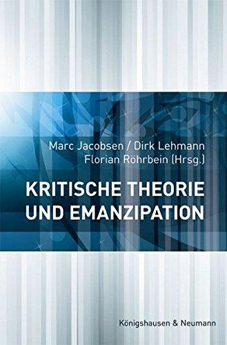 9783826050657: Kritische Theorie und Emanzipation