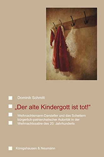 Der alte Kindergott ist tot!: Dominik Schmitt