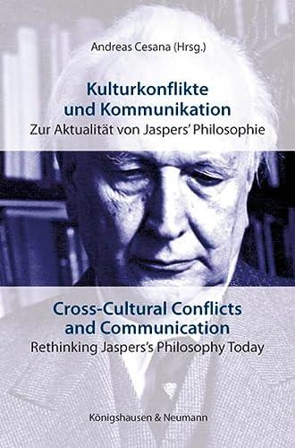 9783826052149: Kulturkonflikte und Kommunikation. Cross-Cultural Conflicts and Communication