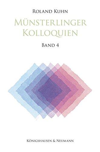 Münsterlinger Kolloquien 4: Roland Kuhn