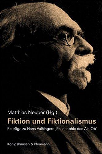 Fiktion und Fiktionalismus: Matthias Neuber