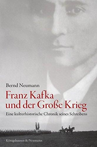 Beispielbild für Franz Kafka und der Große Krieg. zum Verkauf von SKULIMA Wiss. Versandbuchhandlung